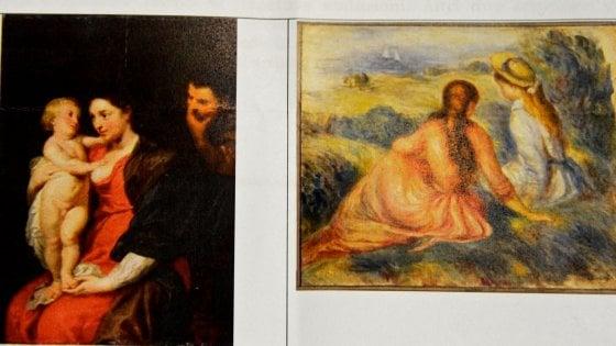 Furto Renoir e Rubens dal valore di 26 milioni €: arrestate 5 persone