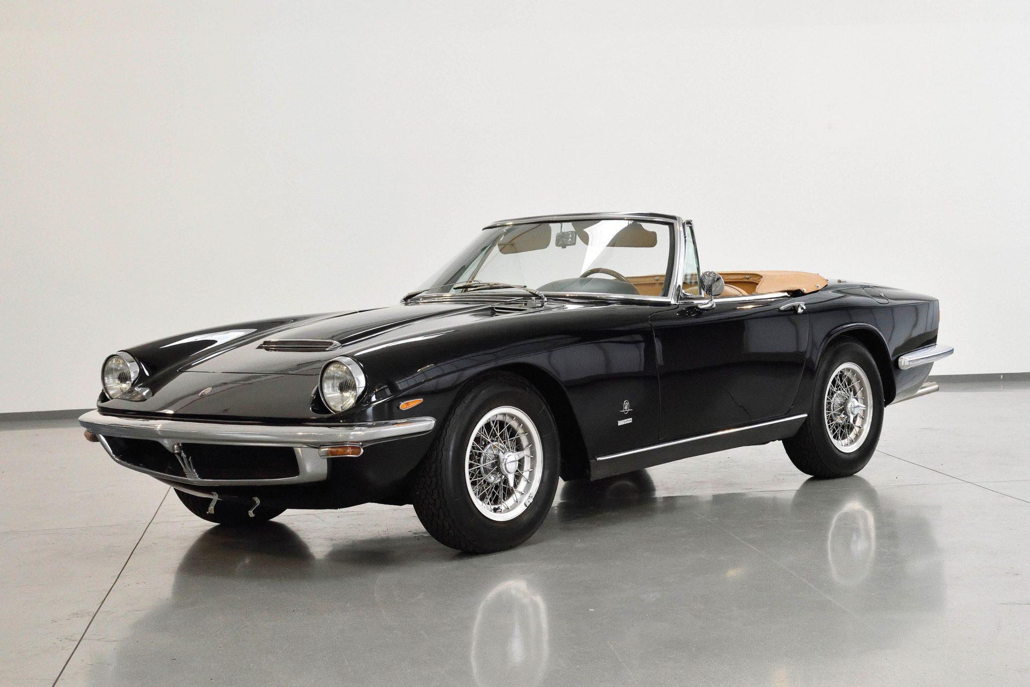 N. 602 1966 Maserati Mistral Spyder 370, prezzo realizzato € 663.800