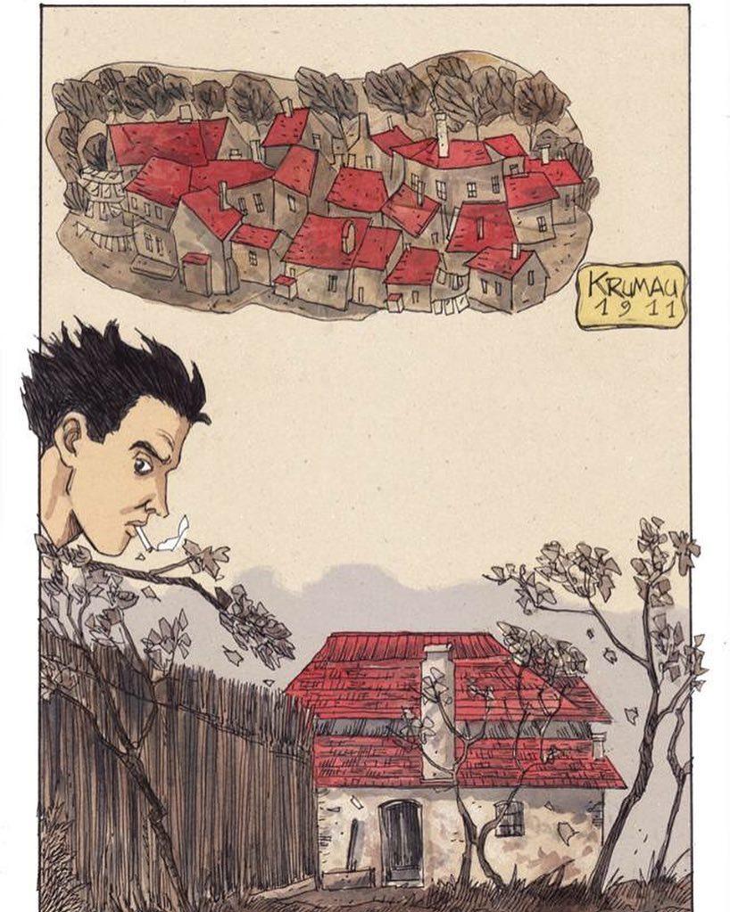Egon Schiele, il corpo struggente: la graphic novel di Otto Gabos