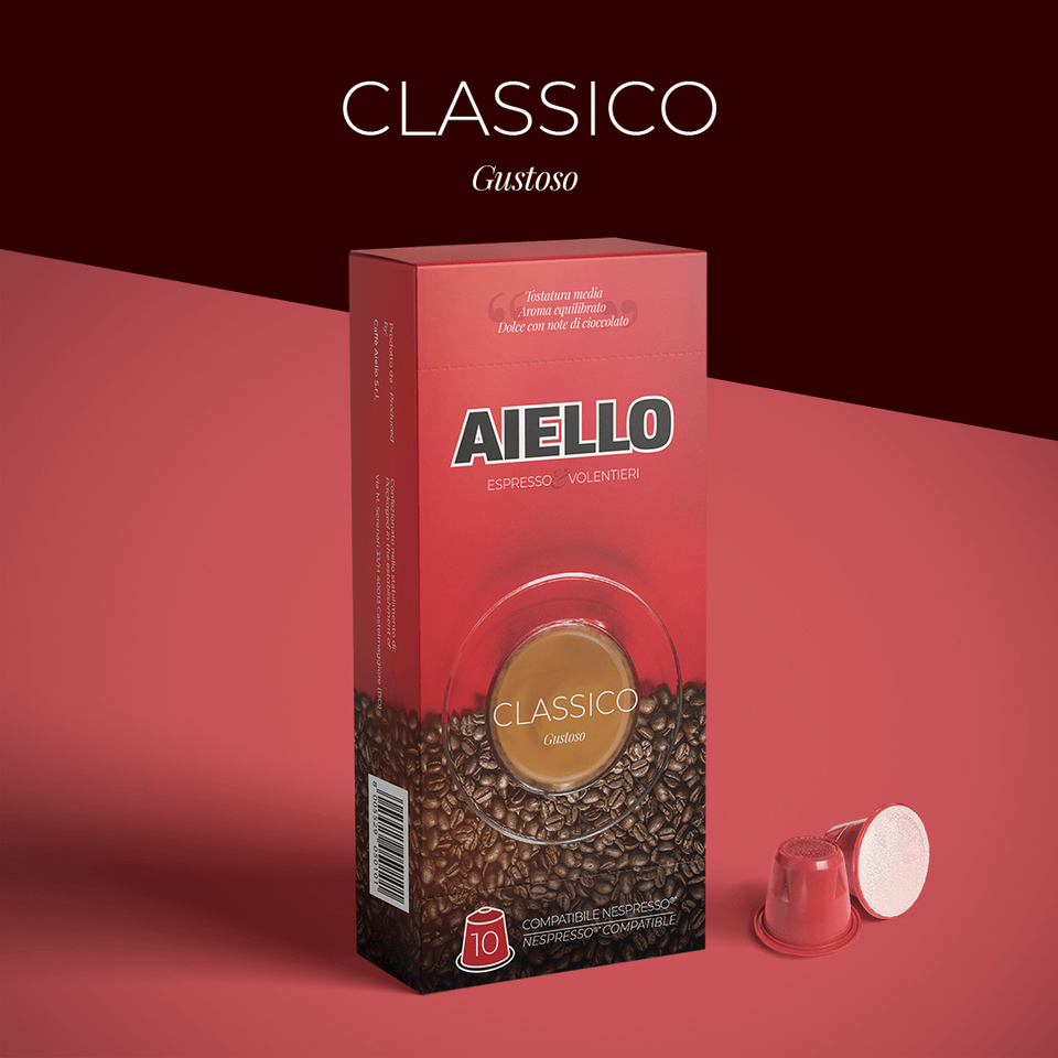 La nuova linea di capsule di Caffè Aiello