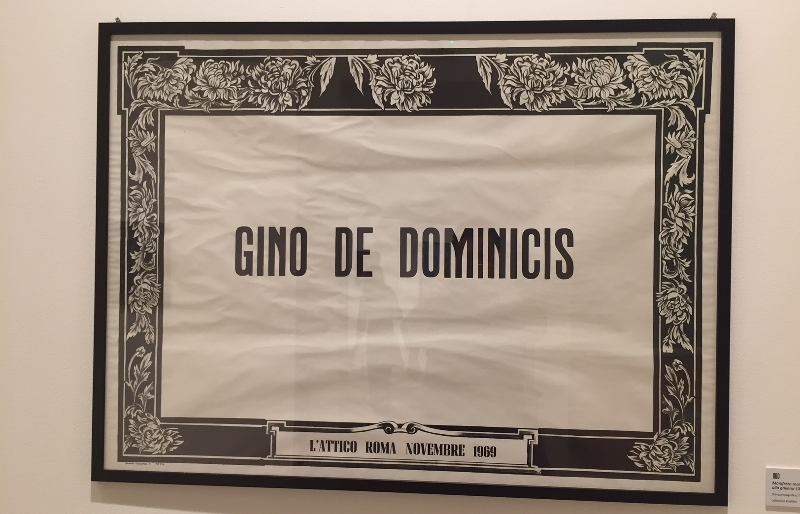 GDD – Genio della dimensione, Palazzo Riso, Palermo