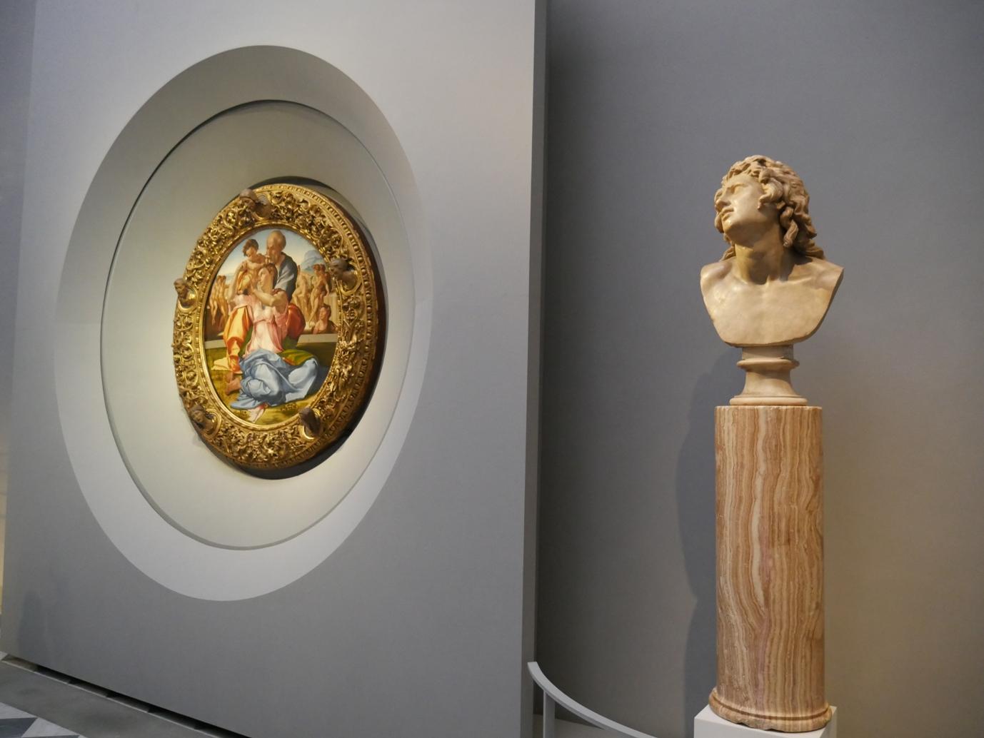 La nuova sala di Michelangelo e Raffaello agli Uffizi