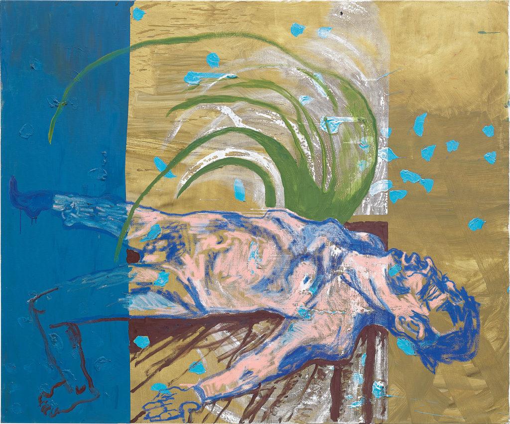 Martin Kippenberger's Ohne Titel (aus der Serie Das Floß der Medusa) (1996). Image courtesy of Phillips.