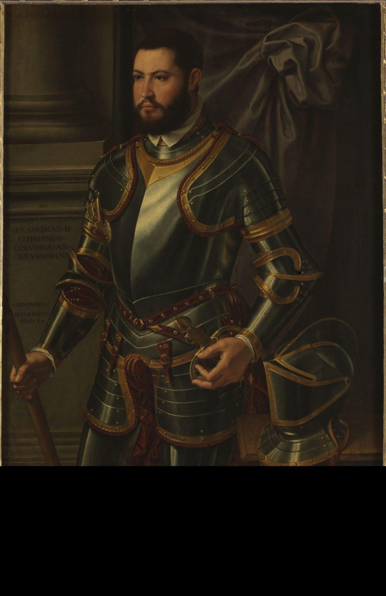 Mostra Armi e Potere_Siciolante da Sermoneta, Ritratto di Francesco II Colonna, Galleria Nazionale d'Arte Antica di Palazzo Barberini