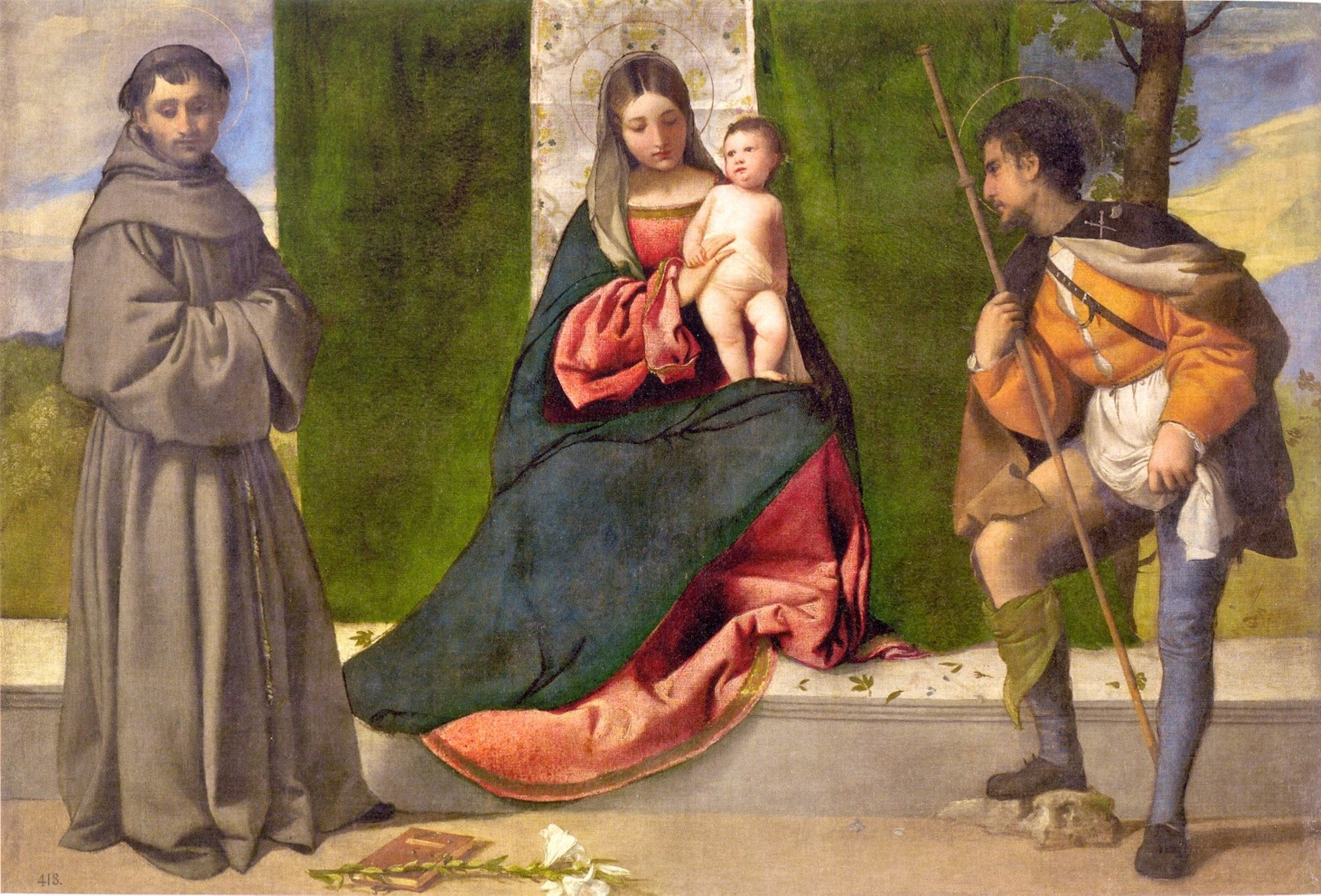 Tiziano, Madonna col bambino