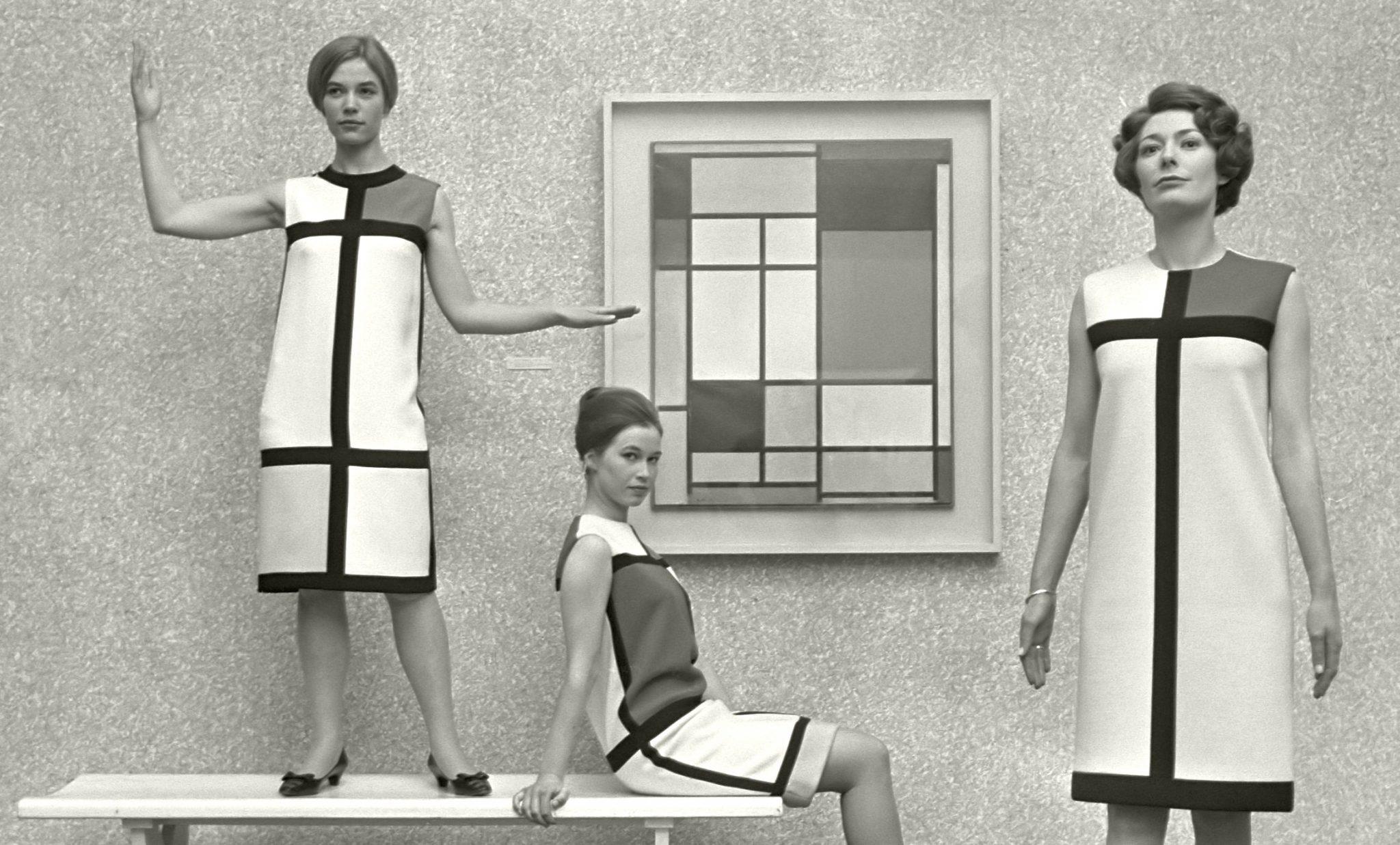 Yves Saint Laurent ispirato a Mondrian