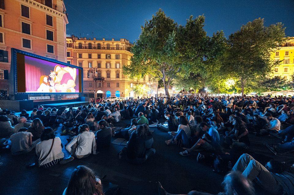 Preparate seggiole e cuscini: il Cinema in Piazza illumina le notti di Roma