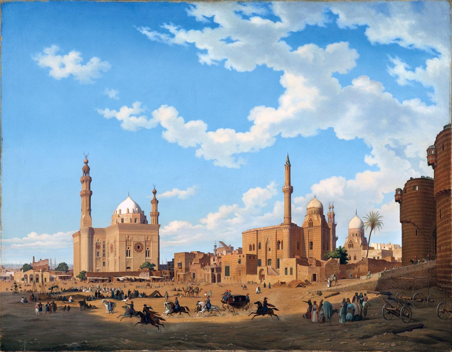 Hubert Sattler, Il Cairo, 1850