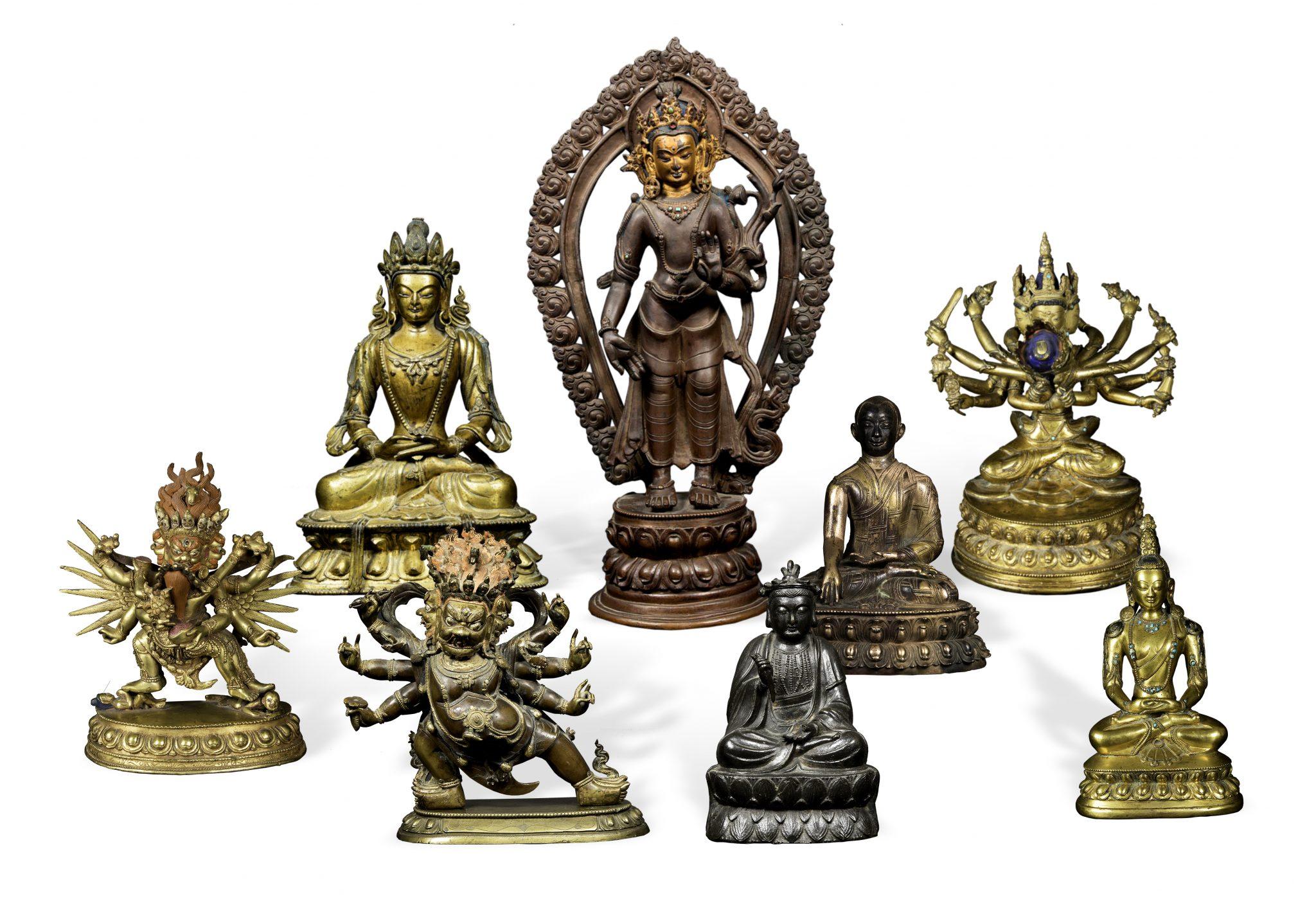 Successo da Cambi per i bronzi himalayani e cinesi