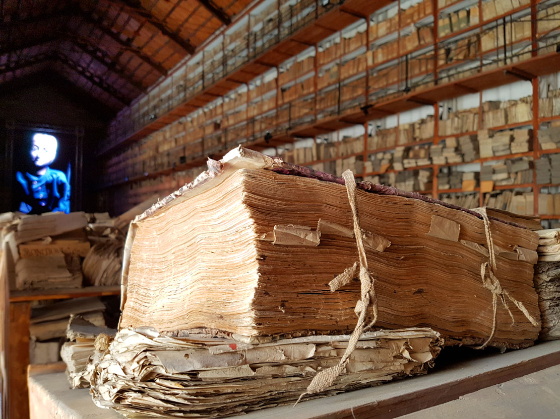 Archivio di Stato - Gancia (Foto Luca Zuccala)