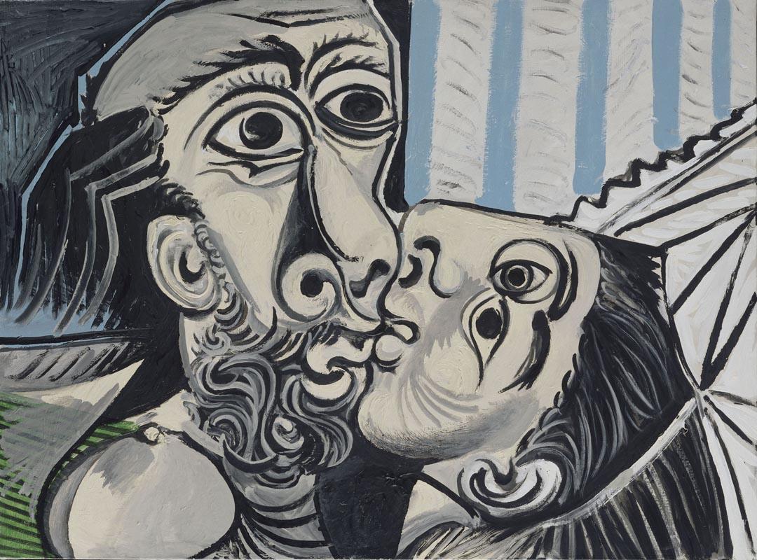 Picasso Pablo Picasso Il bacio, 1969 olio su tela, 97x130 cm Paris, Musée National Picasso Credito fotografico: © RMN-Grand Palais (Musée national Picasso-Paris) /Jean-Gilles Berizzi/ dist. Alinari