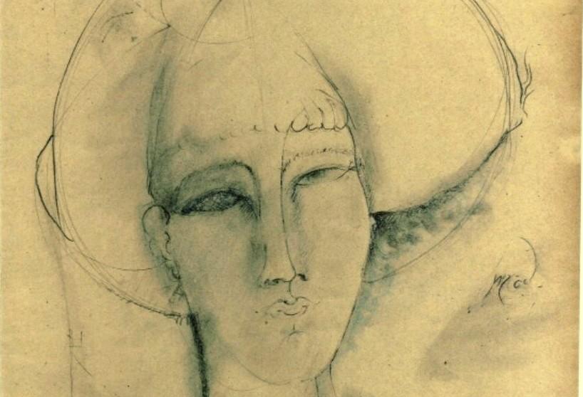 Amedeo Modigliani, Femme fatale (particolare)