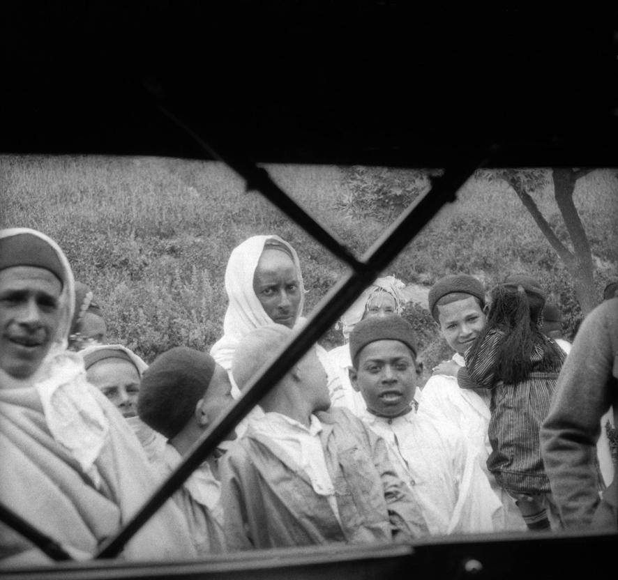 Indigeni a Teboursouk, aprile 1925
