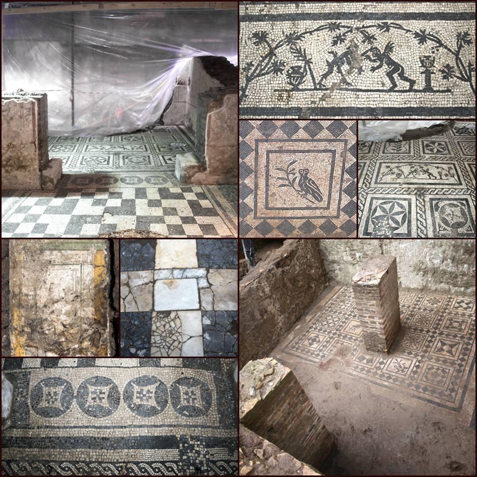 Domus del Comandante, scavi a Roma per la metro C.