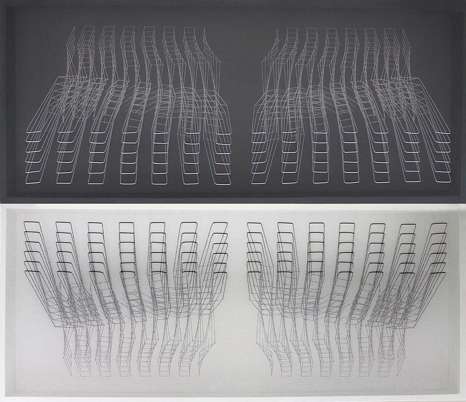 Gorghi di linee e luci. Le geometrie di Emanuela Fiorelli e Paolo Radi alla Rocca di Umbertide