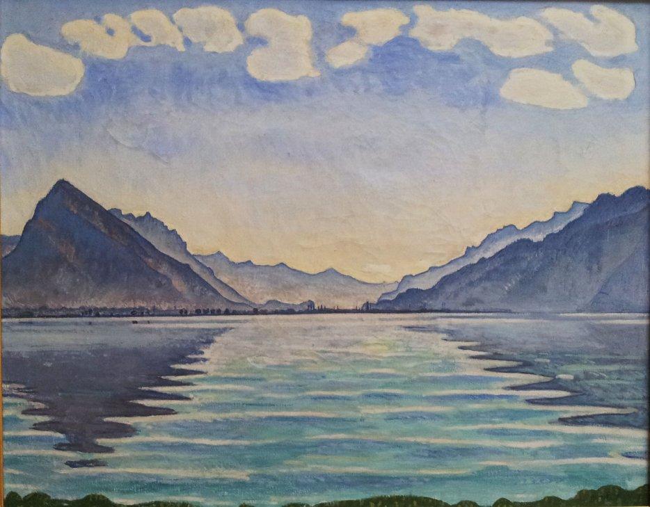 Hodler. Le Lac de Thoune, 1905