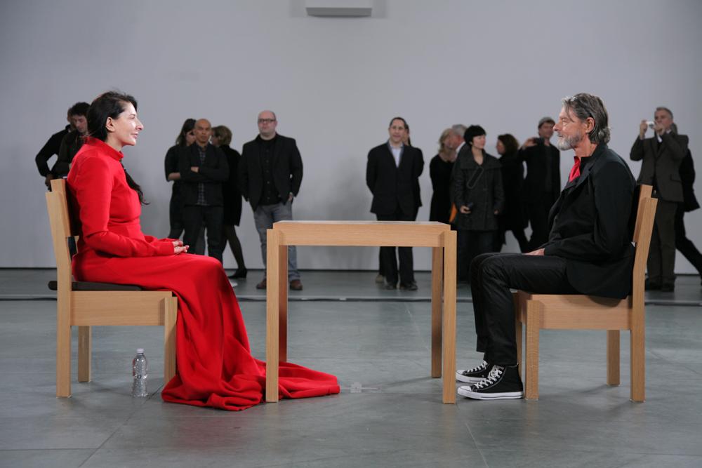 Il celebre incontro tra Marina Abramovic e Ulay al MoMA
