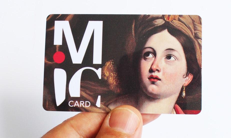 MIC card - carta che da diritto all'ingresso gratuito ai musei civici di Roma