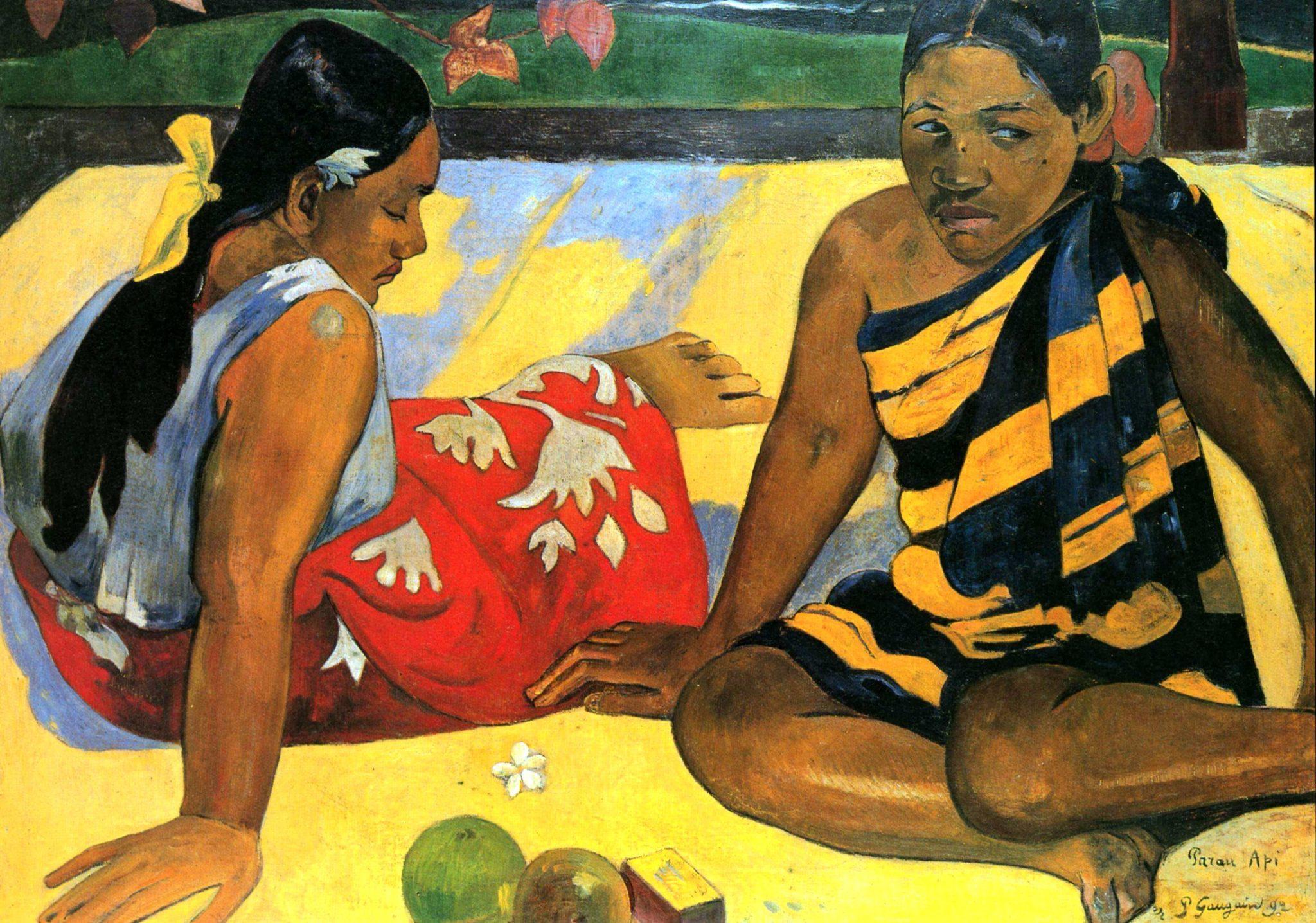 Paul Gauguin, Parau api, 1892