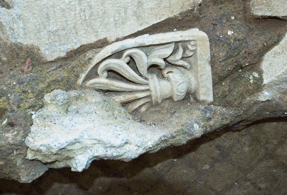 scavi archeologici vicino Ponte Milvio
