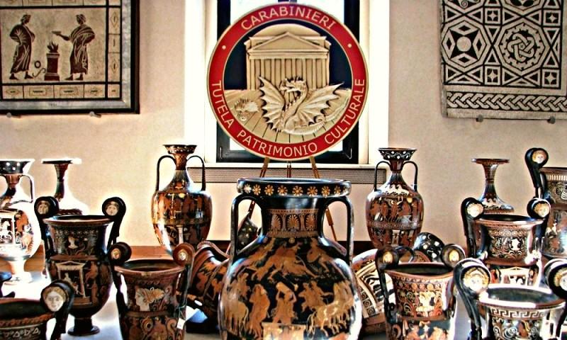Operazione Demetra. I Carabinieri recuperano 20mila reperti archeologici a rischio esportazione