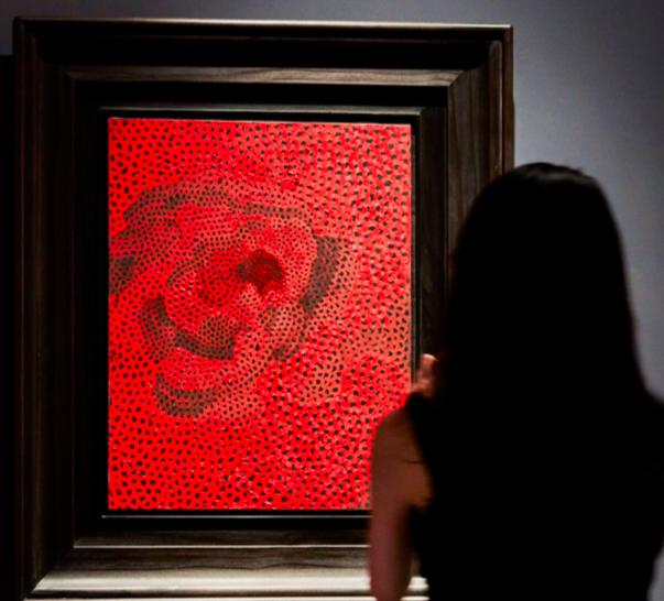 Yayoi Kusama, Red-Nets No2.A.3 - Sotheby's