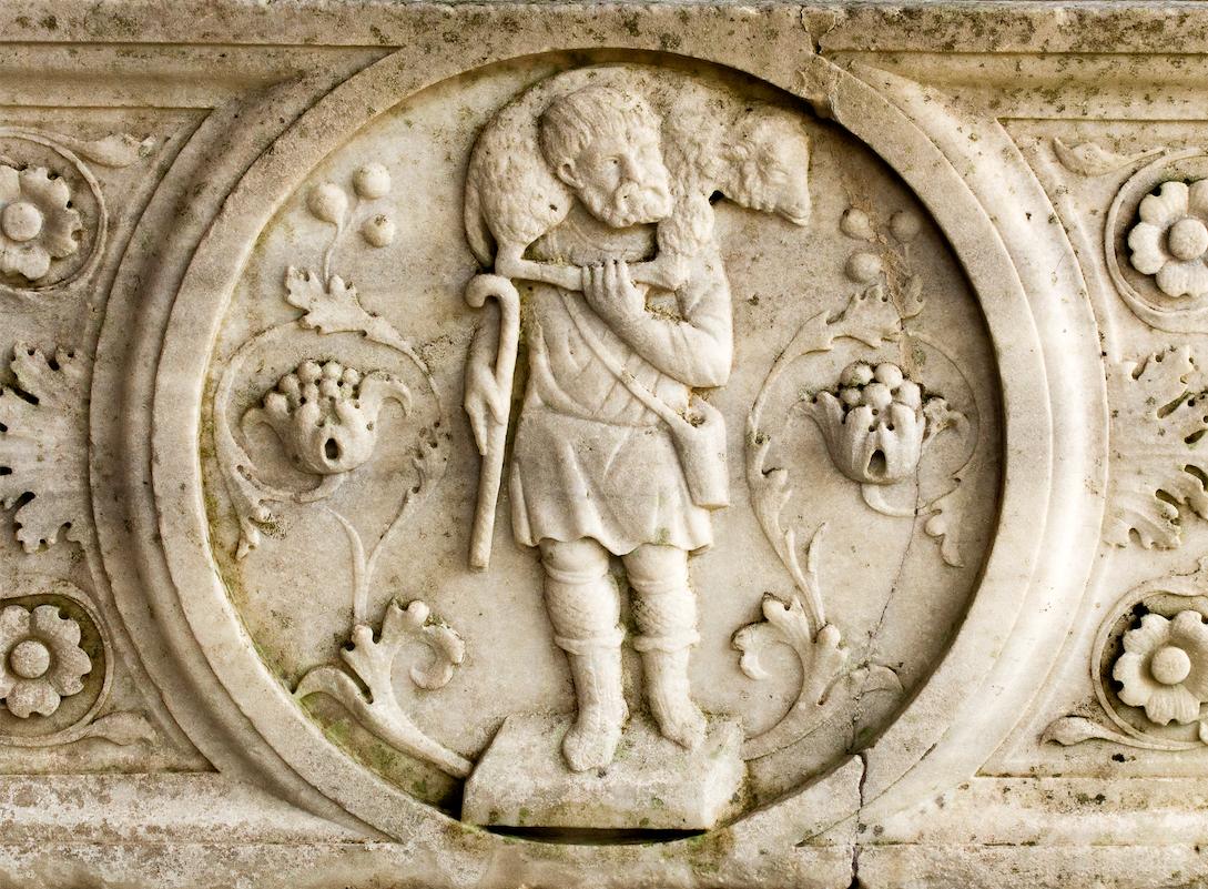 Bertolami fine arts Sarcofago del Buon Pastore