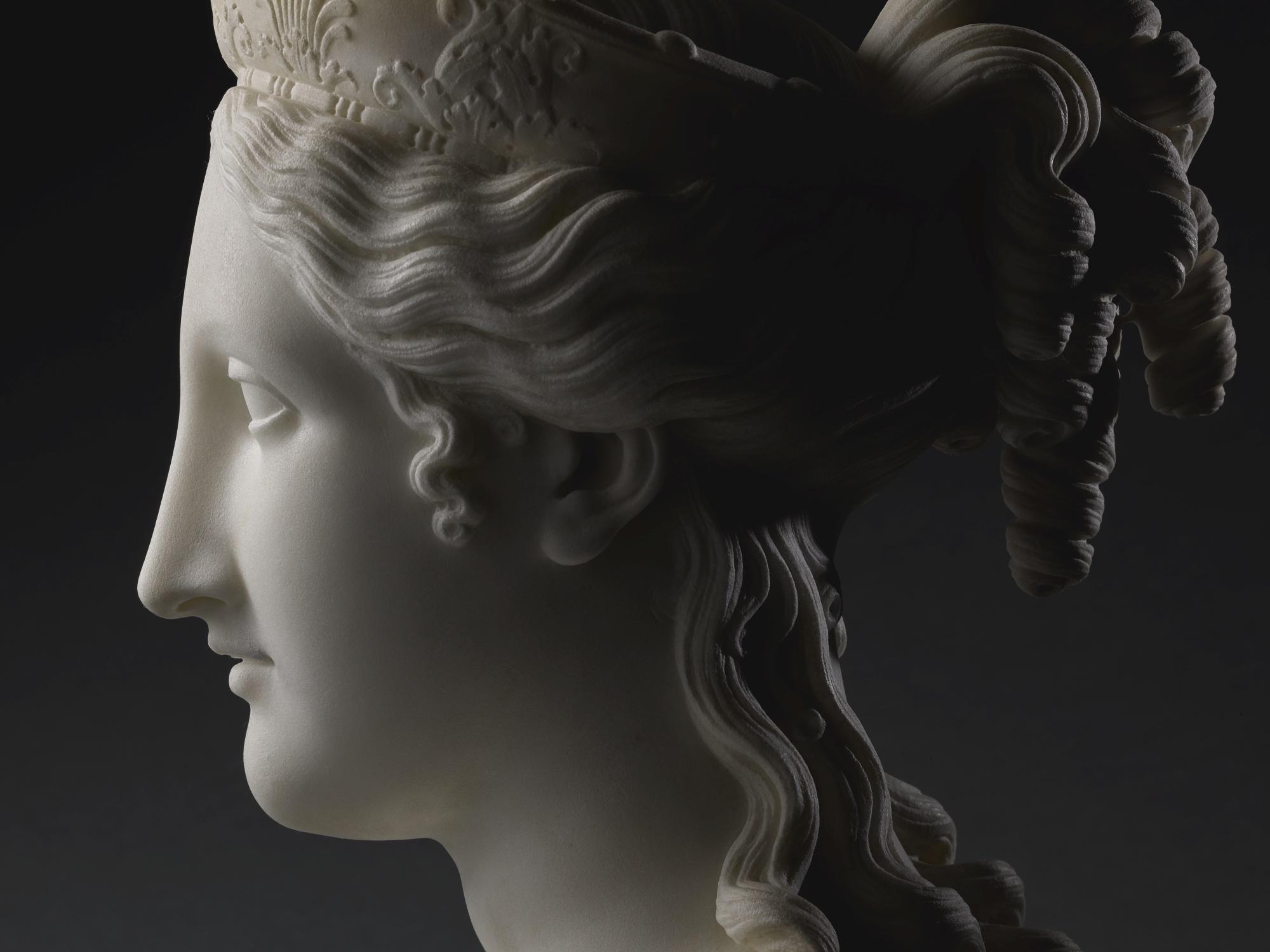Antonio Canova: nuovo record d'asta a 5,3 milioni£ per il 'Busto della pace'