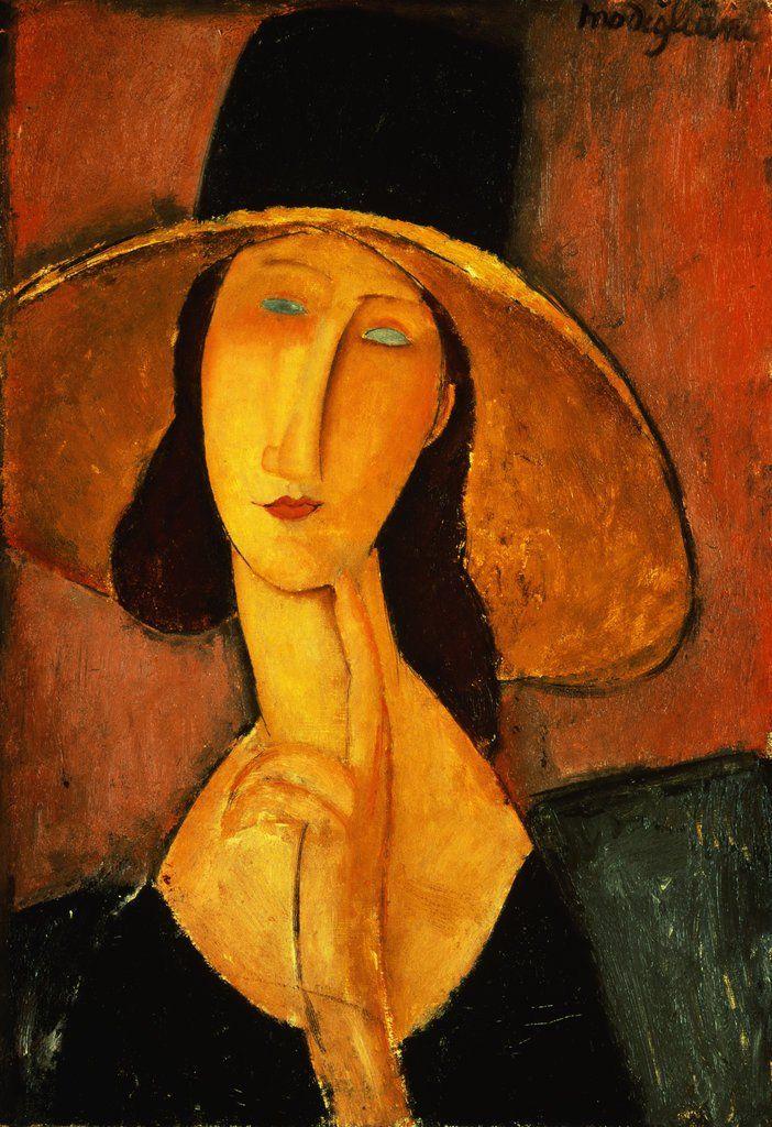 Modigliani, ritratto di Jeanne Hebuterne