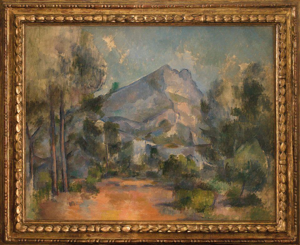Paul Cézanne, La Montagne Sainte-Victoire (1897). Kunstmuseum Bern, Bequest Cornelius Gurlitt 2014