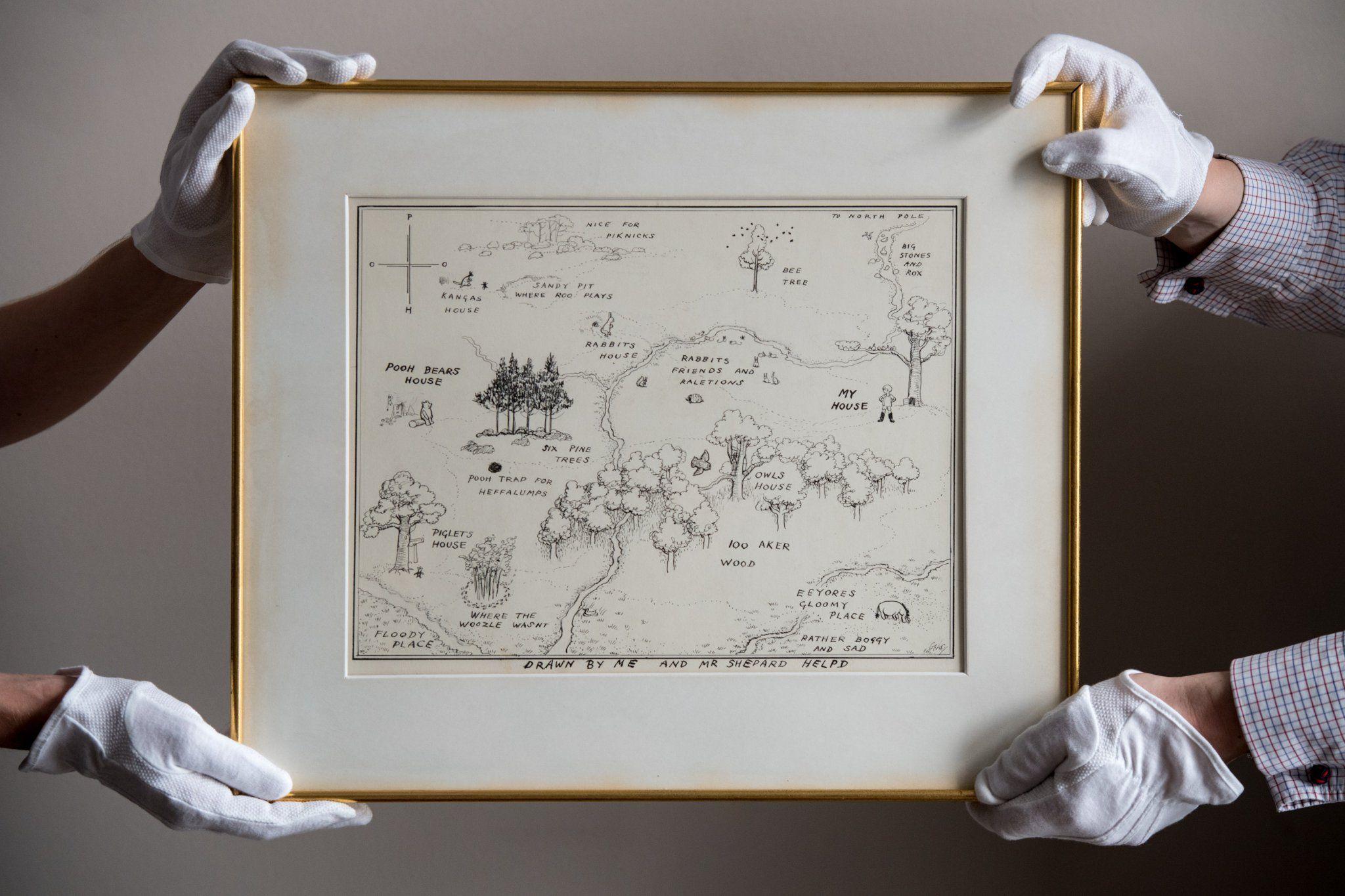 Anche Winnie The Pooh può fare record in asta: £460.000 per un'illustrazione dell'orsetto ghiottone