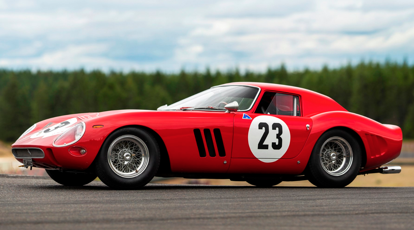 1962 Ferrari 250 GTO by Scaglietti Chassis No.3413 Engine No.3413 Gearbox No.5 Rear differential no.5 STIMA $45,000,000 - $60,000,000 RM | Sotheby's - MONTEREY 2018 - August 25, 2018