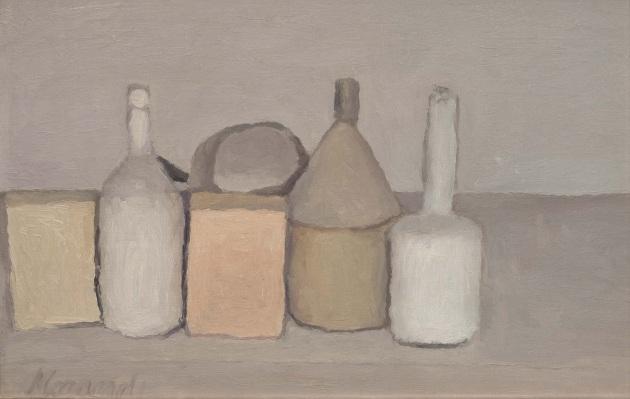 Giorgio Morandi, Natura morta, 1955