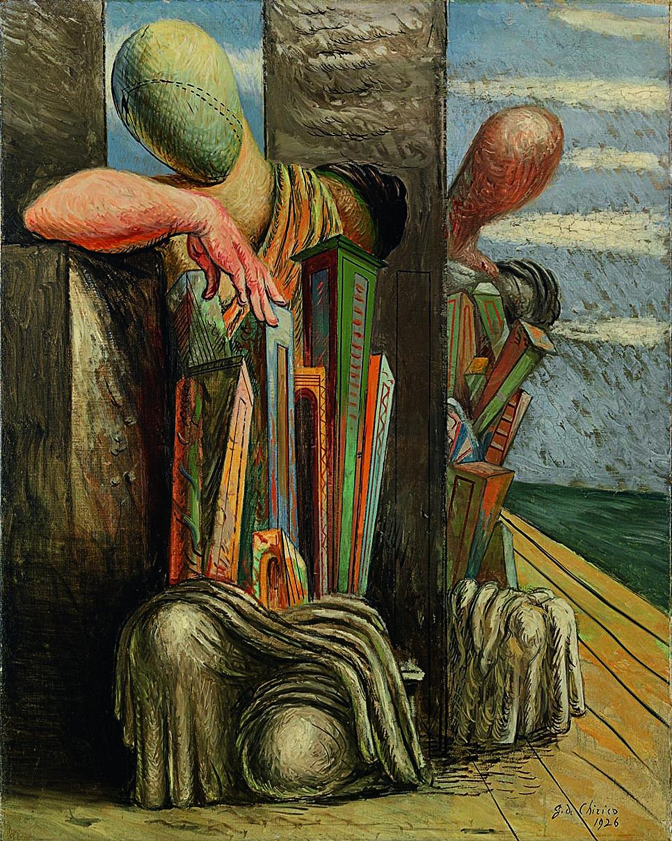 Giorgio de Chirico Le trouble du philosophe, 1925-1926 Museo del Novecento, Milano