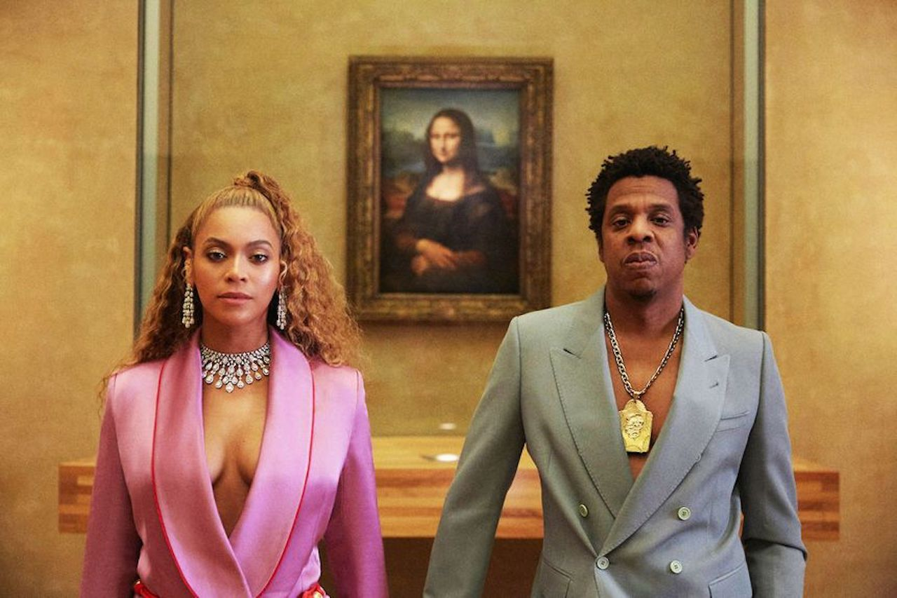 Beyoncé e Jay-Z al Louvre