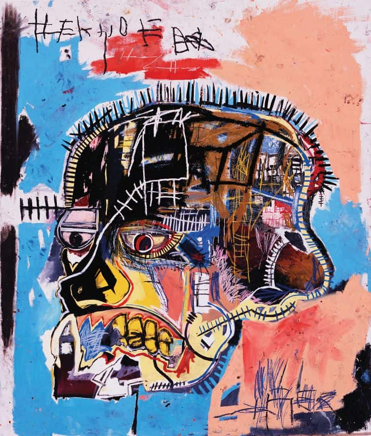Jean-Michel Basquiat - Untitled, 1981 The Eli and Edythe L. Broad Collection, Los Angeles © 2011