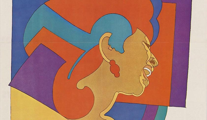 Milton Glaser, portrait of Aretha Franklin (particolare)