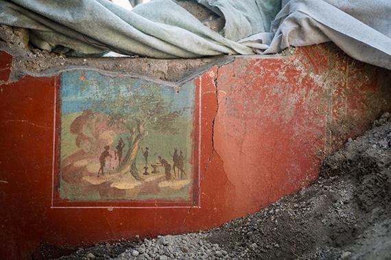 Quadretto idillico sacrale - Casa a Nord del Giardino a Pompei