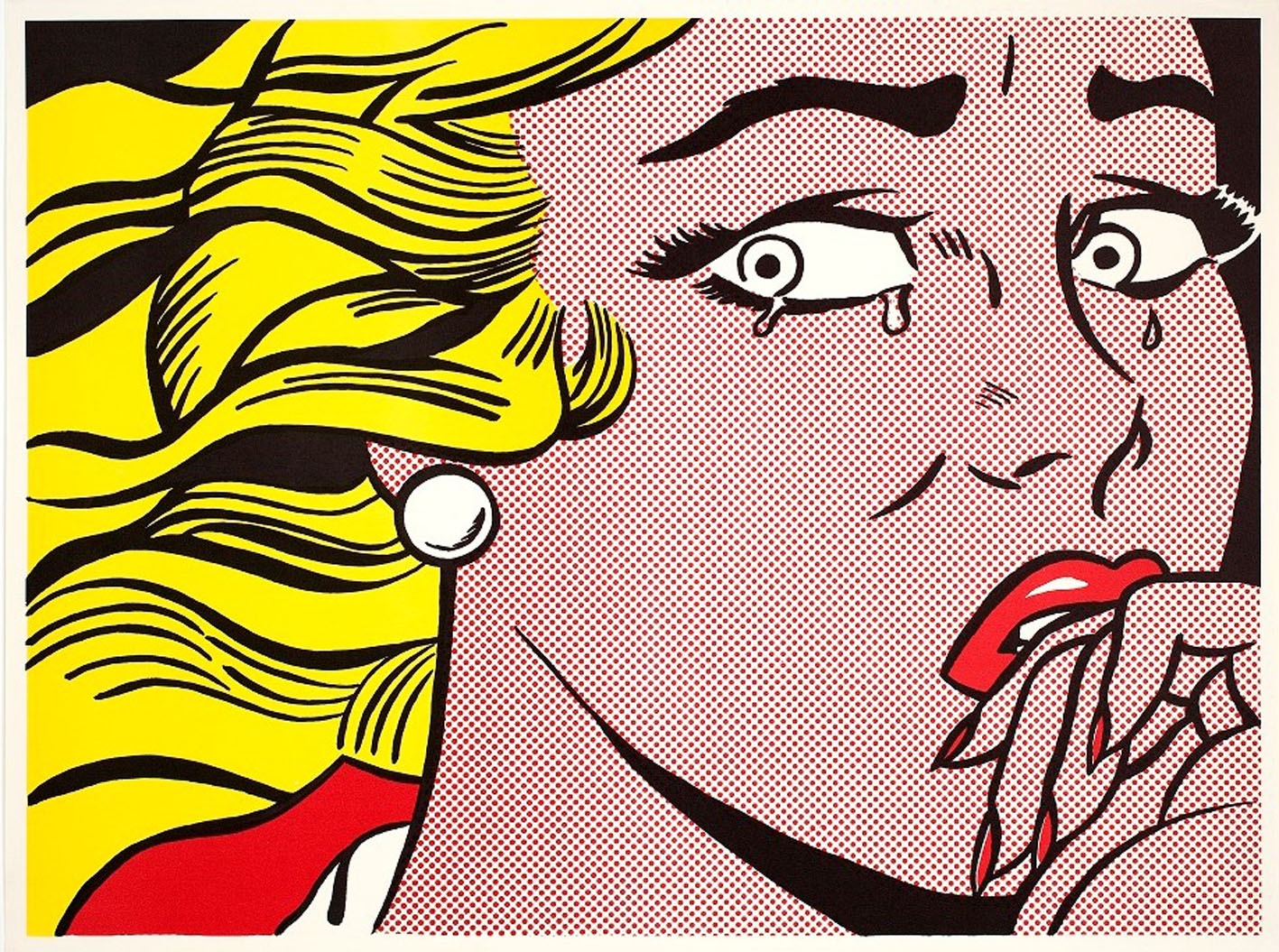 Roy Lichtenstein, Crying Girl, 1963 © Estate of Roy Lichtenstein SIAE 2018
