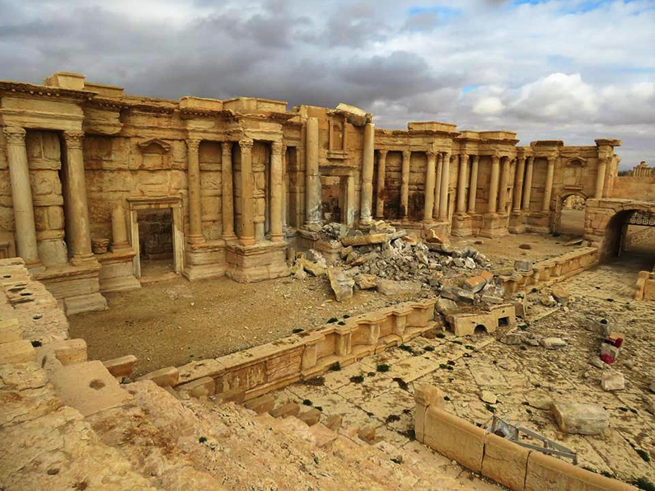 Una veduta di Palmyra