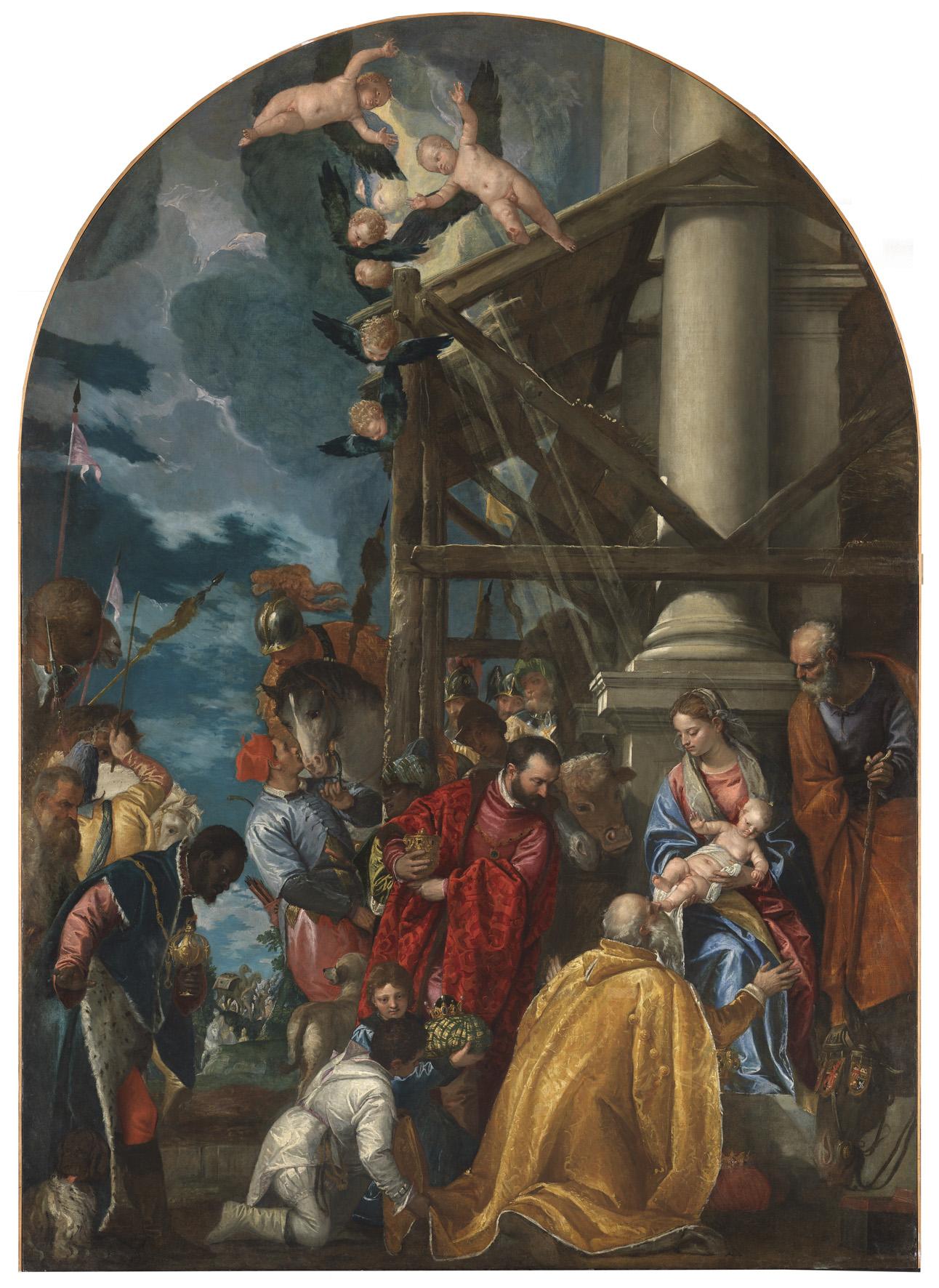 Adoration of the Magi, 1572