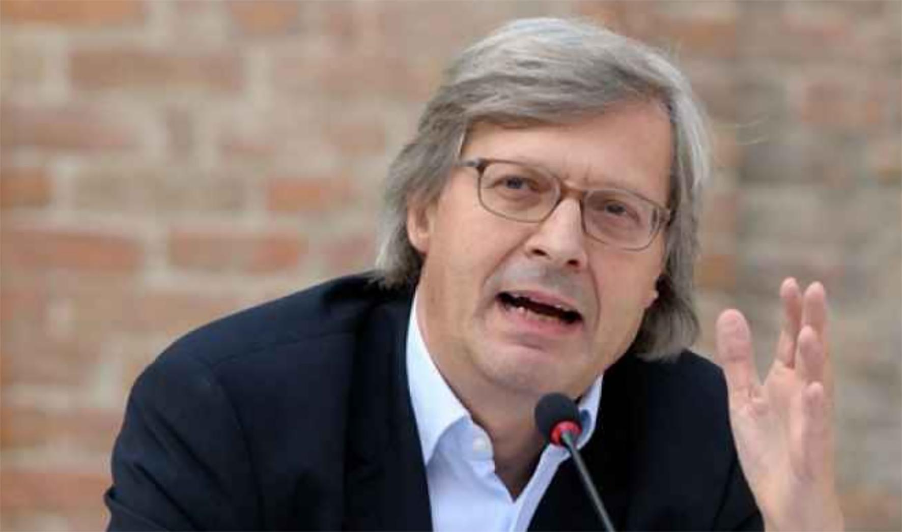 Vittorio Sgarbi, sindaco di Sutri