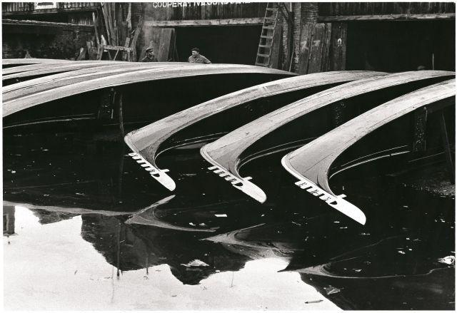 Fulvio Roiter Squero di San Trovaso 1970 © Fondazione Fulvio Roiter