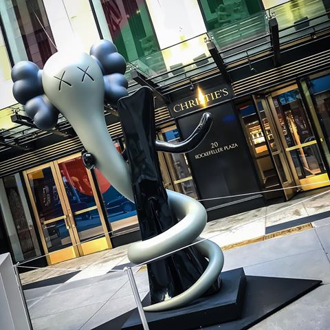 KAWS-christies