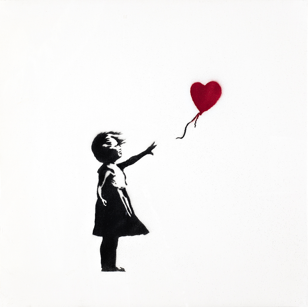 Banksy | Girl with Balloon ©Steve Lazarides