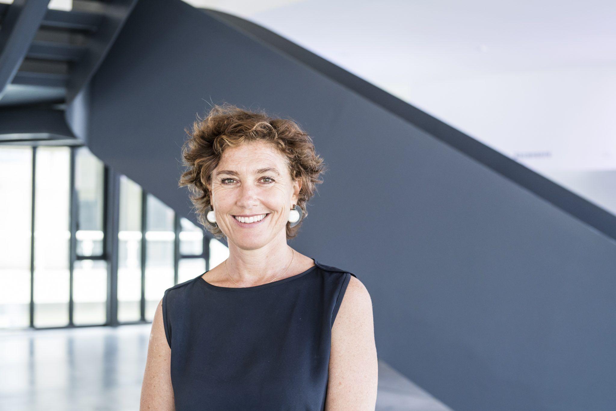Cristiana Perrella, direttrice del Centro per l'Arte Contemporanea Luigi Pecci Ph. OKNOstudio