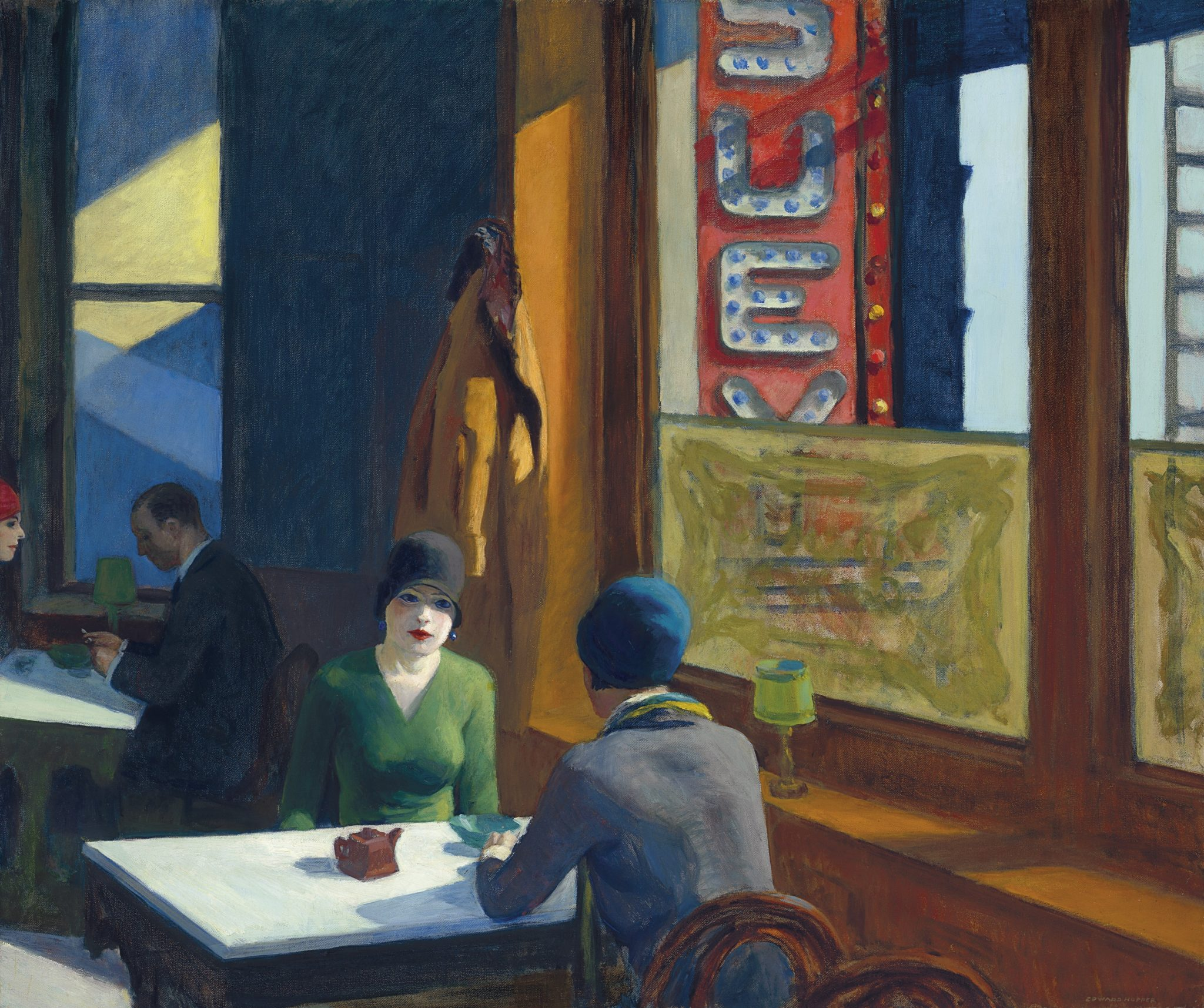 EDWARD HOPPER (1882-1967) Chop Suey oil on canvas 32 x 38 in. Painted in 1929 Estimate in the region of $70 million