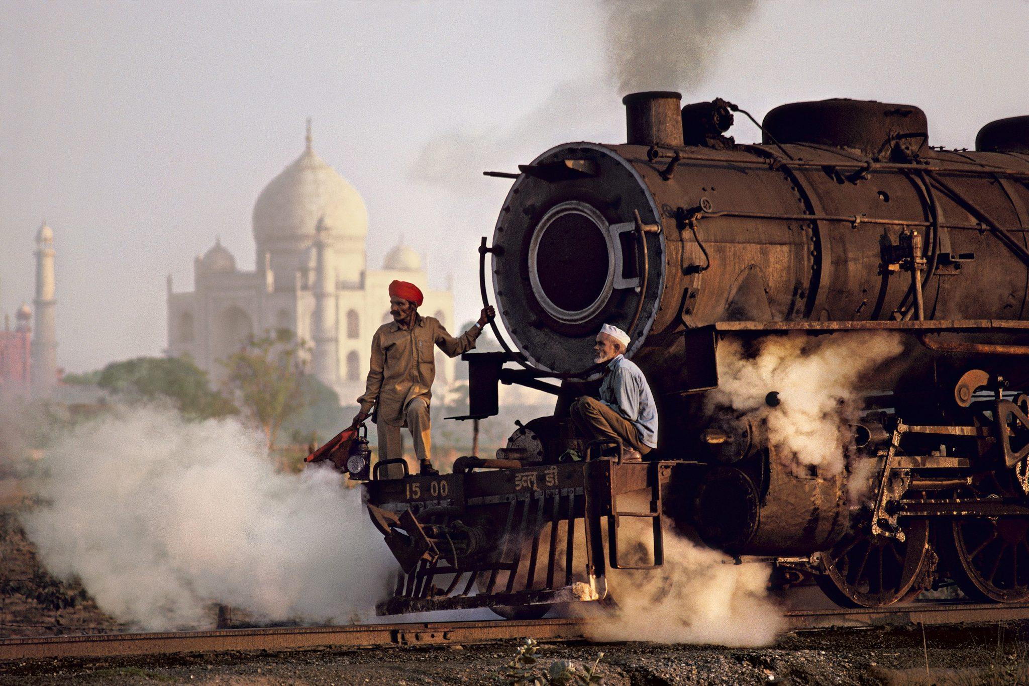 Steve McCurry's Rail Journey through India