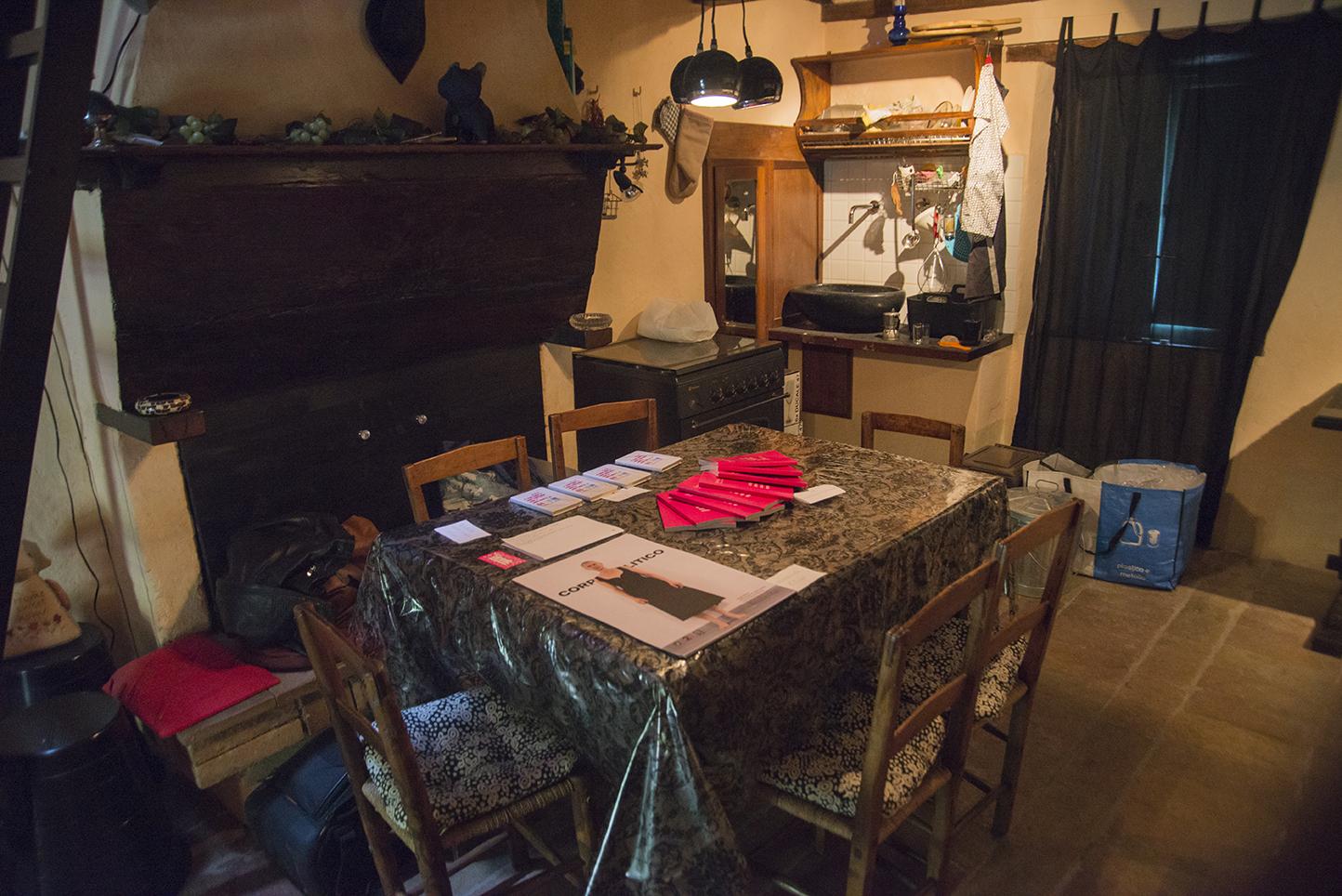 Un po' mostra, un po' residenza d'artista. A Palermo Casa Spazio ospita Casa Sponge