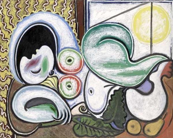 Pablo Picasso, Nudo Sdraiato (4 aprile 1932), olio su tela; 130×161,7 cm, Paris Musée National Picasso
